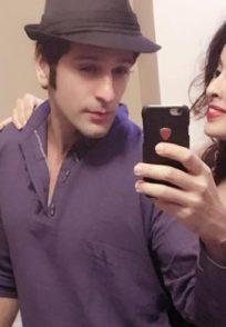 Karan Suchak With His Wife Nandita Bhandary