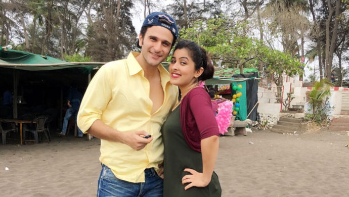 Karan Suchak with his wife Nandita Suchak