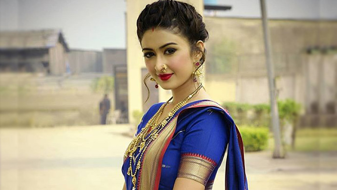 Farnaz-Shetty-In-Maharastrian-Style-Saree