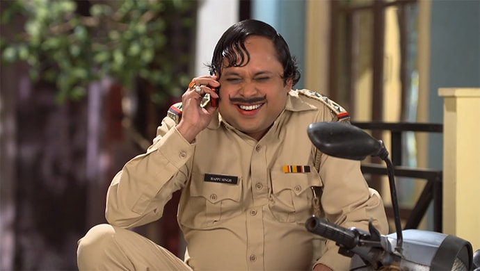Happu Singh smiling
