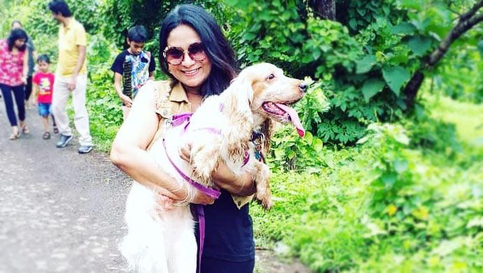 Utkarsha-Naik-With-her-pet