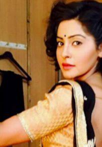 Yukti Kapoor in saree