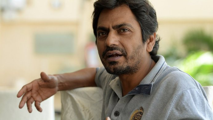Nawazuddin Siddiui Snapped During An Interview