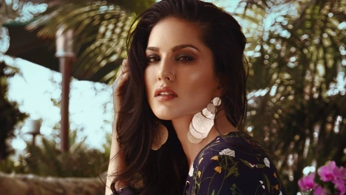 A still of Sunny Leone from a photoshoot