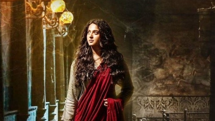 Anushka Shetty in a still from Bhaagamathie