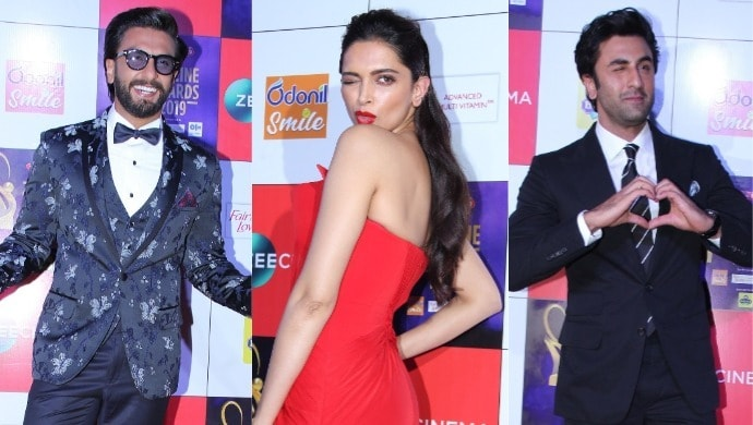 Deepika Ranveer and Ranbir at ZCA 2019
