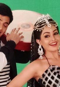 Shubhangi Atre and Aasaif Sheikh on the sets of Bhabi Ji Ghar Par Hain