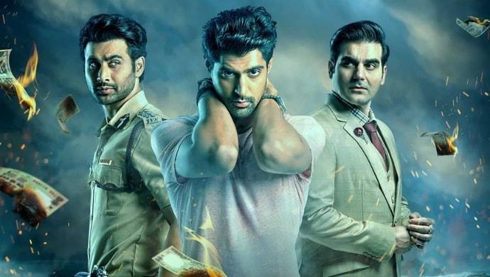 Arbaaz Khan, Freddy Daruwala, Tanuj Virwani on Poison poster