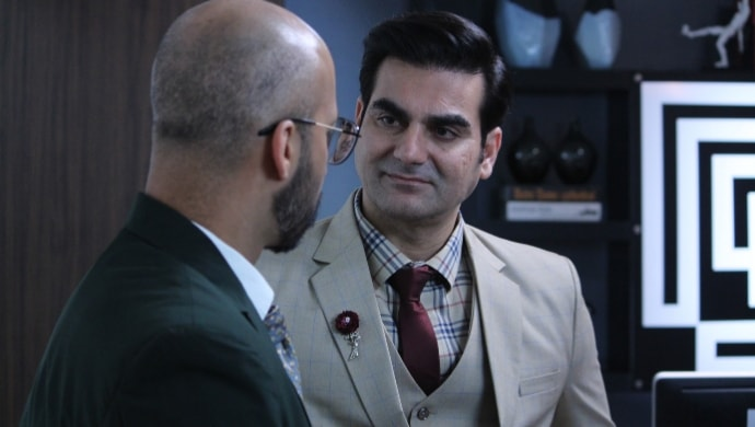 Arbaaz Khan in a still from ZEE5 original Poison