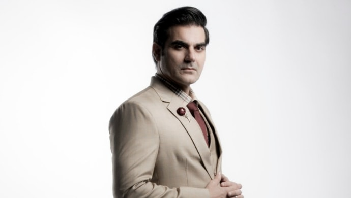 Arbaaz Khan in a suit