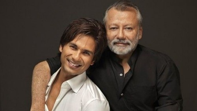 Pankaj Kapur with son Shahid Kapoor