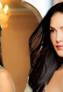 Sunny Leone in a still from Karenjit Kaur The Untold Story