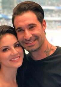 Sunny-Leone-with-her-husband-Daniel-Weber
