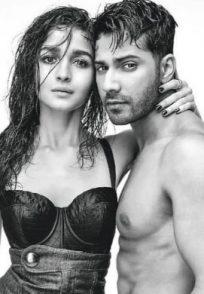 Varun Dhawan and Alia Bhatt in a still from recent photoshoot