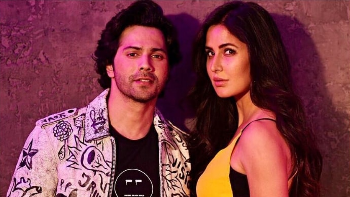 Varun Dhawan and Katrina Kaif on the sets of Koffee With Karan