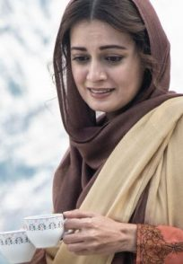 A still from the sets of Kaafir ft. Dia Mirza