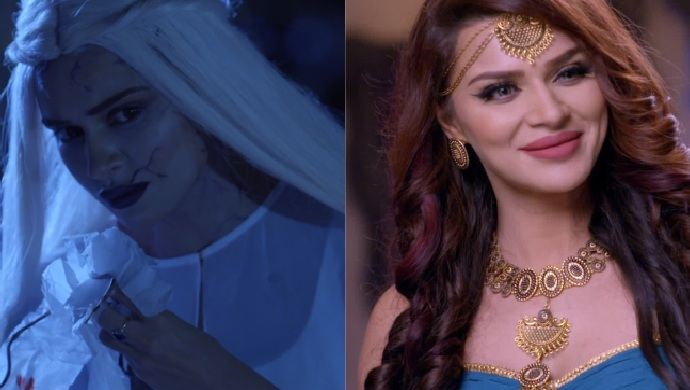 Aashka as Vampire from Daayan