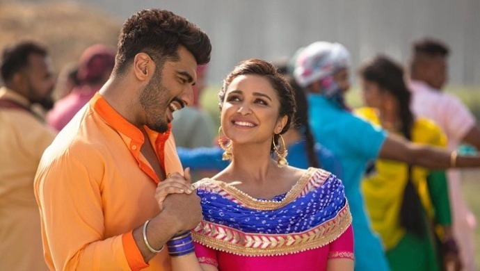 Arjun Kapoor and Parineeti Chopra in a song still from Namaste England