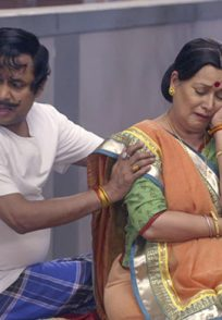 Happu with Amma from Happu Ki Ultan Paltan