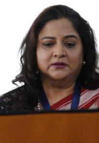 Shama Deshpande in a scene from D.A.T.E.