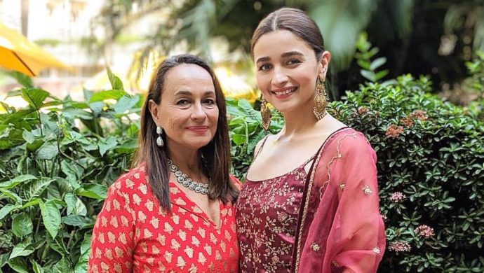 Soni Razdan with Alia Bhatt
