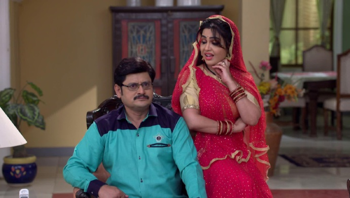 Still from Bhabi Ji Ghar Par Hain with Tiwari