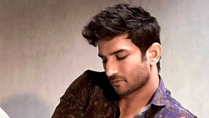 sushant singh rajput poses for a magazine photoshoot
