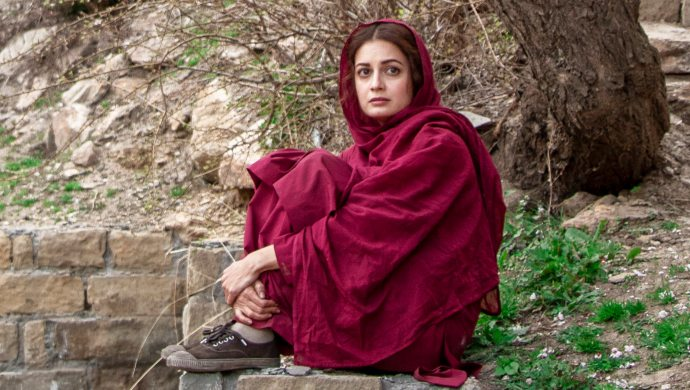 Dia Mirza as Kainaaz in a still from Kaafir