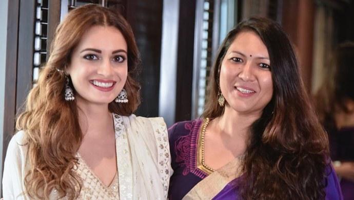 Dia Mirza with Sonam Nair