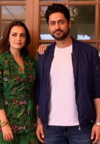 Mohit Raina and Dia Mirza promote Kaafir