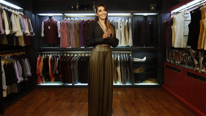Monica Dogra in The Greedy Closet