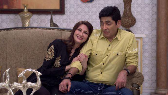 Still from Bhabi Ji Ghar Par Hain with Anu