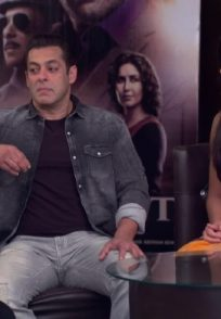 Still from Bhabi Ji Ghar Par Hain with Salman Khan