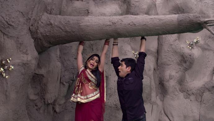 Still from Bhabi Ji Ghar Par Hain with Vibhuti
