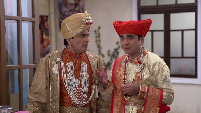 Still from Bhabi Ji Ghar Par Hain with Vibhuti