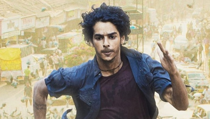 A still from Beyond The Clouds featuring Ishaan Khatter