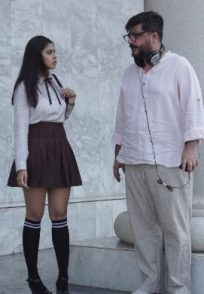 A still from REJCTX featuring Goldie Behl and Anisha Victor