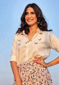 Aahana Kumra for Rangbaaz promotions