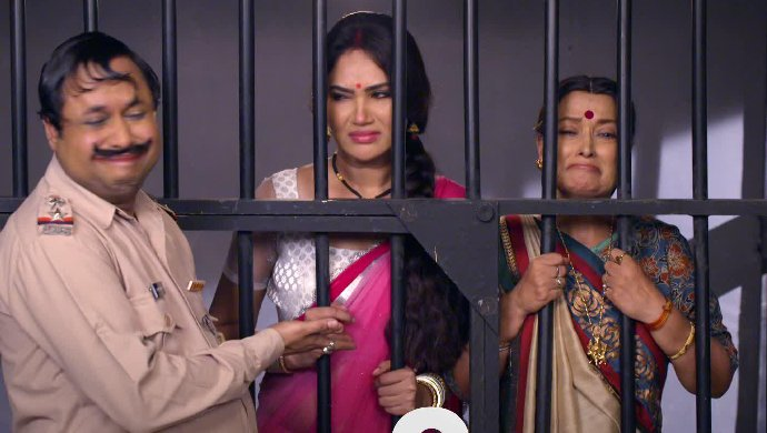 Amma and Rajesh in jail
