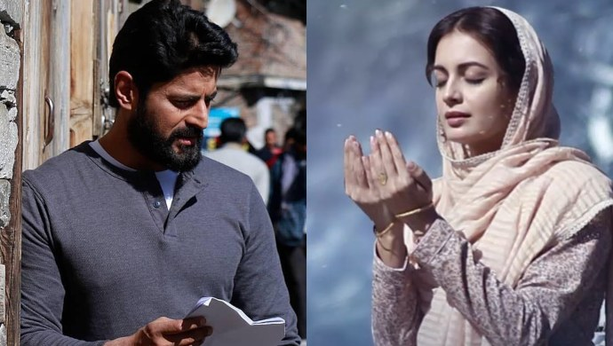Dia Mirza as Kainaaz and Mohit Raina as Vedant in Kaafir