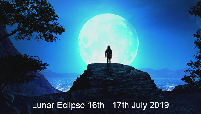 Lunar eclipse July 2019