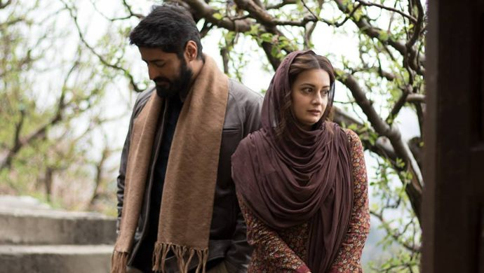 Mohit Raina and Dia Mirza in a still from Kaafir