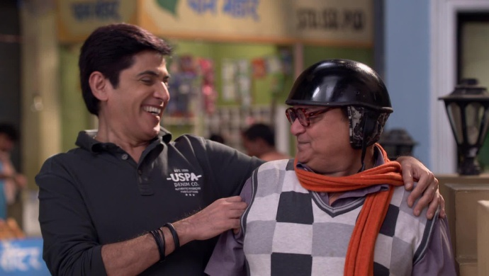 Still from Bhabi Ji Ghar Par Hain with Angoori's father
