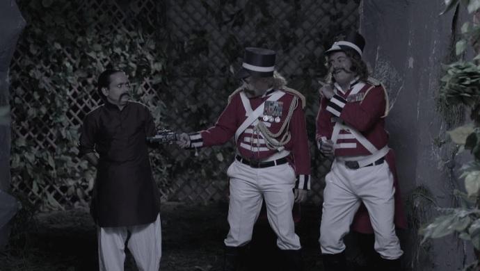 Still from Bhabi Ji Ghar Par Hain with Happu Singh