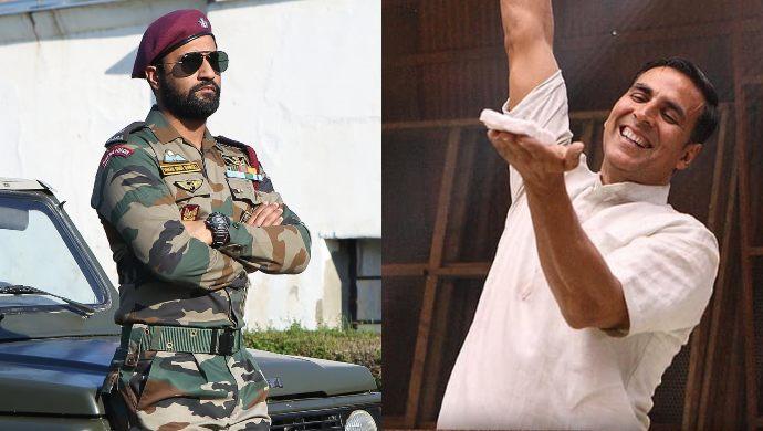 Vicky Kaushal in Uri and Akshay Kumar in Pad Man