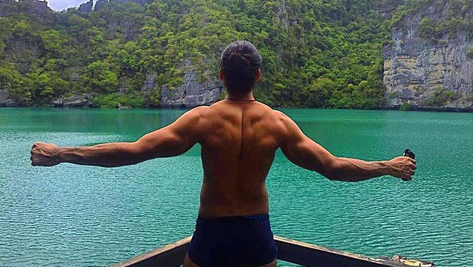 Ankit Raaj as Aquaman