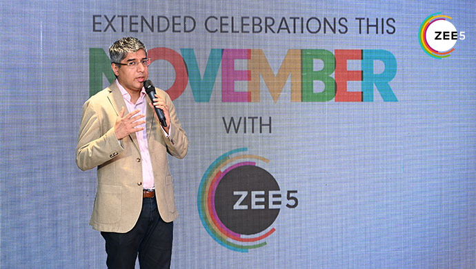 Tarun Katial Opens the ZEE5 Celebrations