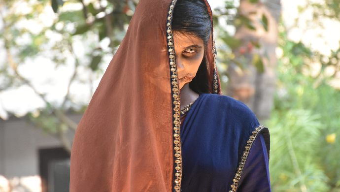 A still from Laal Ishq