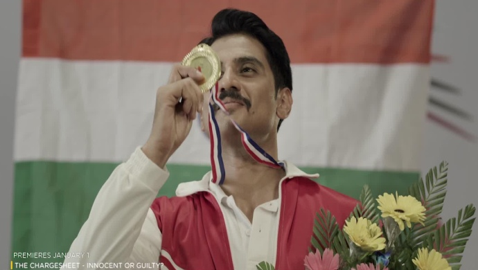 Still of Shiv Pandit From the trailer of The Chargesheet