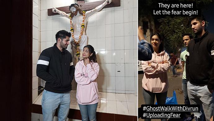 Varun Sood and Divya Agarwal Take A Ghost Walk